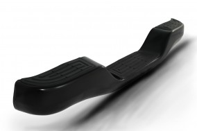 AC-419-B-factory style bumper with black powder coating
