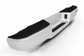 AC420-C Rear Step Bumper S with Chrome Plated Steel