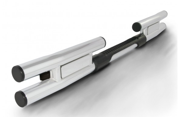 กันชนท้าย AC-427 ชุบ AC-427-C Rear Step Bar with Chrome Plated Steel