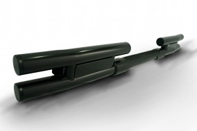AC-427-B Rear Step Bar with Black Powder Coating