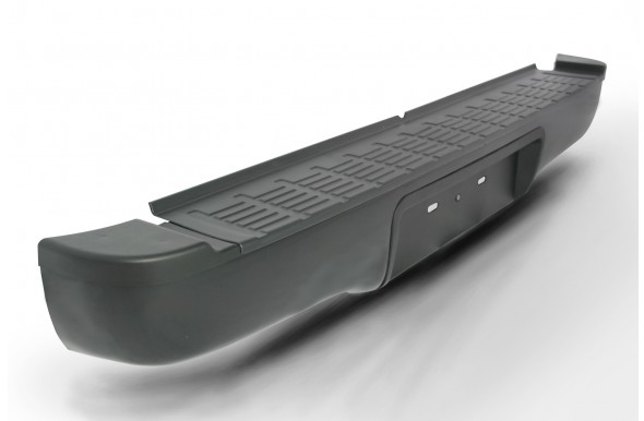 กันชนท้าย AC-440-EB ดำ AC-440-EB Factory Style Bumper with black powder coating